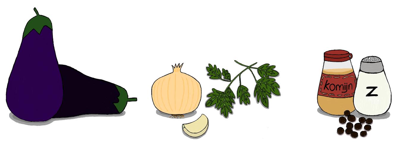 aubergine balletjes