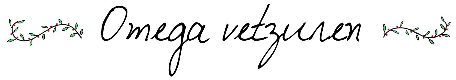 Omega vetzuren